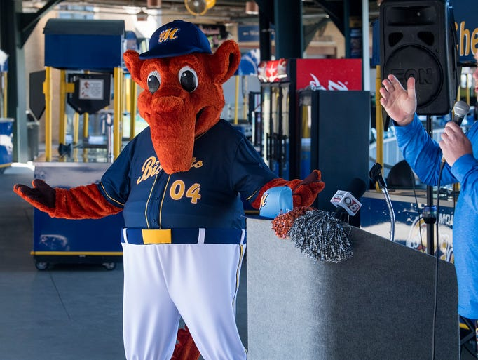 Montgomery Biscuit mascot Big Mo unveils his new physique,