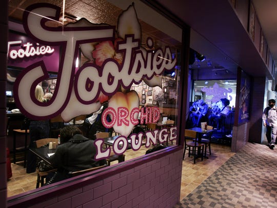 Tootsie's Orchid Lounge has a new location in the C Terminal of Metro Nashville Airport, shown here Feb. 8, 2008.