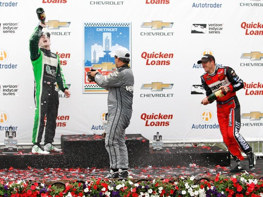 Do you think Conor Daly (left) enjoyed his best IndyCar finish?
