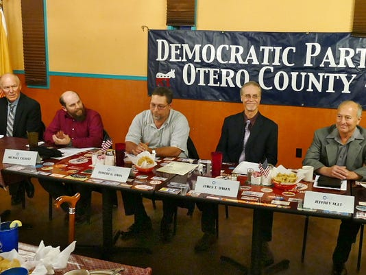 Mayoral Candidates meet DPOC