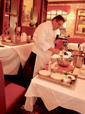 Chef Bernard A. Dervieux, owner of Cuistot Restaurant