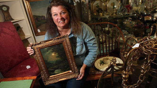Kathleen Jansen is the owner of Cool Home Consignment, which has an eclectic mix of items up for sale including jewelry, antiques, furniture, Native American items and vintage collectibles.