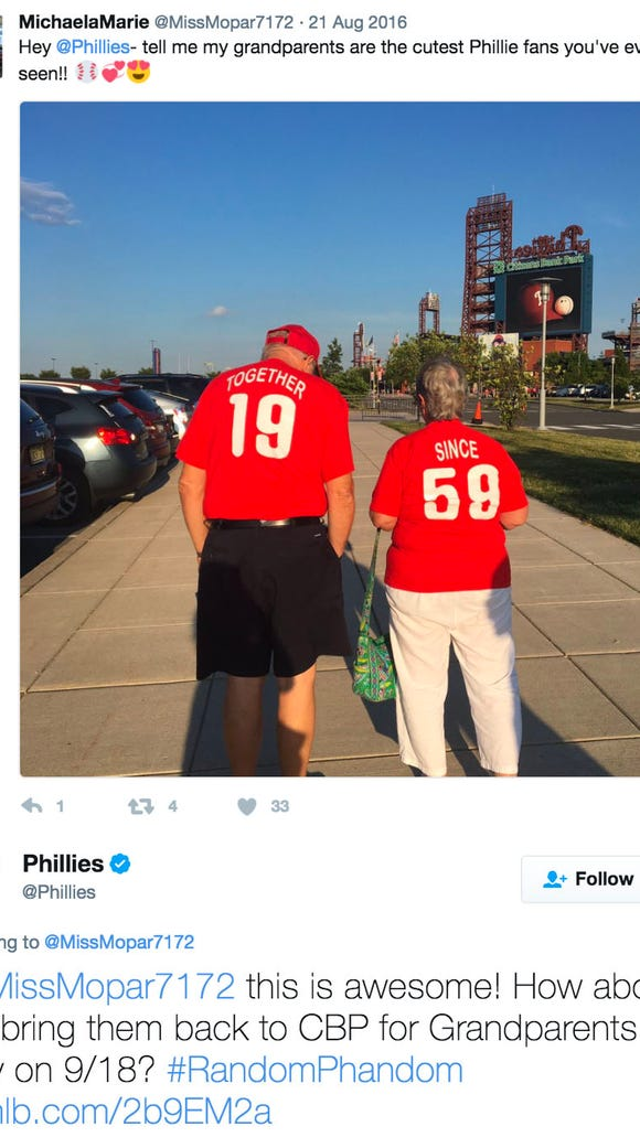 Phillies give dad free Autism Awareness Night tickets for latest awesome 'Random Phandom'