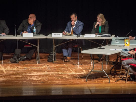 The Distressed Unit of Appeals board hear from two