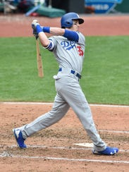 Cody Bellinger of the Dodgers has 18 home runs since