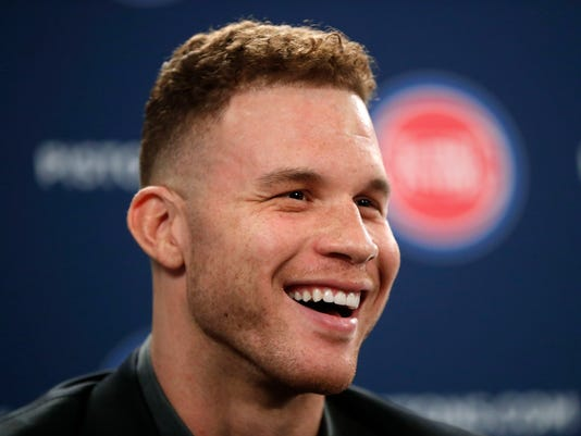 Blake Griffin introduced