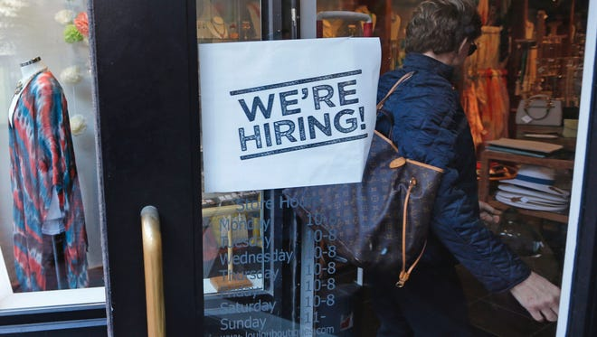 Hiring is brisk this time of year.
