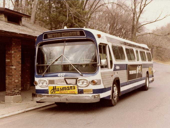 An Early Queen City Metro Bus