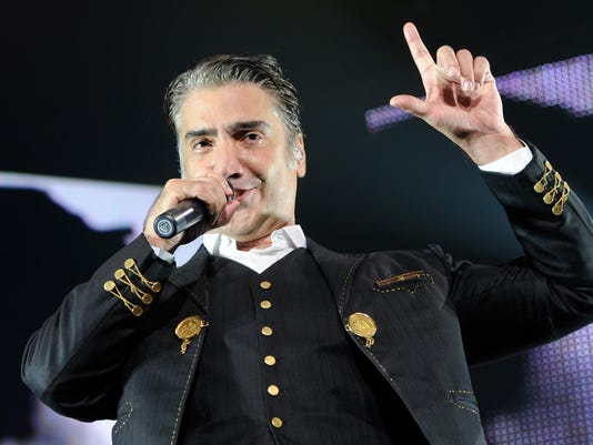 Alejandro Fernandez Performs At MGM Grand In Las Vegas