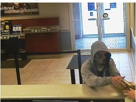 Battle Creek police said this man robbed the Fifth