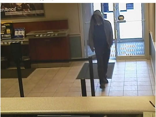 A man robbed the Fifth Third Bank in Battle Creek Friday.