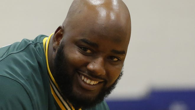 Green Bay Packers defensive lineman Datone Jones.