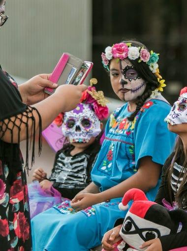 2016 All Souls Procession in Tucson, AZ. on Sunday, November 6, 2016.
