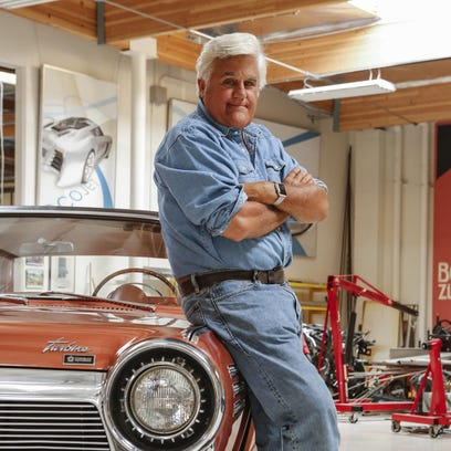 "Jay Leno's new show ""Jay Leno's Garage"" is debuting"