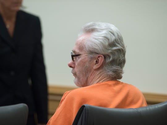 James Morgan, who killed 66-year-old Gertrude Trbovich in 1977 when he was 16 years old, appears in court on Monday, June 11, 2018 at the Martin County Courthouse in Stuart. Despite four murder trials, four death sentences, one parole hearing and being sentenced to a life term, Morgan, 57, is eligible for a resentencing because of a recent court ruling regarding juvenile murderers.