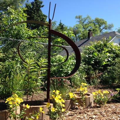 The University of Wisconsin-Stevens Point campus garden