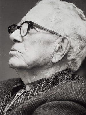 George Aiken in 1984, the year he died in Montpelier.