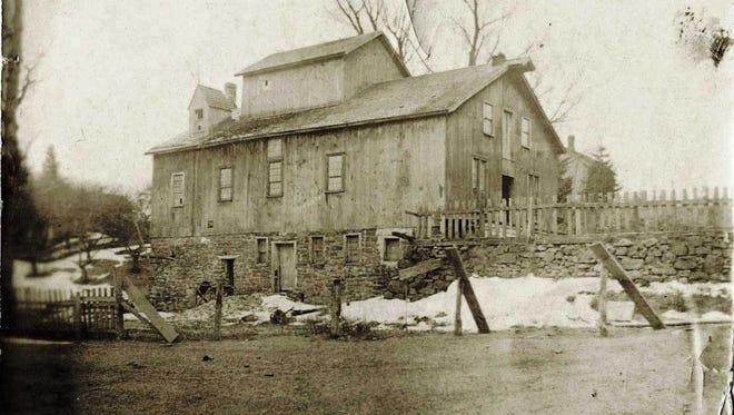 Barnes' Mill on Allen's Creek.