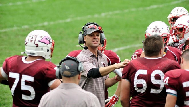 Pompton Lakes head football coach Scott Mahoney balances his players' summer football workouts with other sports. The veteran coach also heads the wrestling and boys' lacrosse teams throughout the school year.