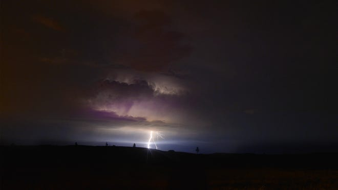 The National Weather Service in Great Falls has issued a Severe Thunderstorm Warning for northcentral Montana Wednesday afternoon.