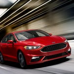 Ford has updated its Fusion sedan, including adding a Fusion V-6 Sport. The performance sedan meant to take on Toyota and Honda.
