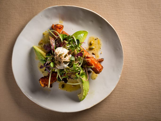 is one of many vegetarian options at abc kitchen francesco tonelli