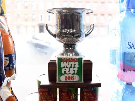 "The big cheese: M & P Biancamano won the ""Hoboken Mutz Fest"" in 2015."
