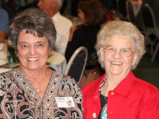 Linda Barclay, left, and Thelma Pelayo have made the