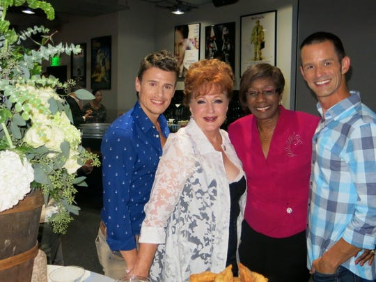 Blake McIvery Ewing, Ann Walker, Shreveport Mayor Ollie
