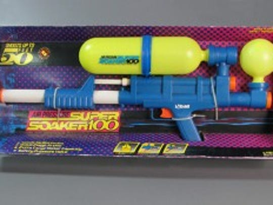 Super Soaker 100, water toy, 1990 , Courtesy of The Strong, Rochester, New York