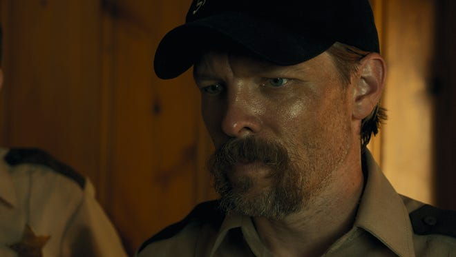 """Miles Doleac appears in a scene from """"The Hollow,"""" which is described as a Southern noir crime thriller."""