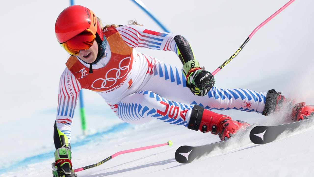 Mikaela Shiffrin looks to follow up on her first gold medal of the Pyeongchang Olympics.