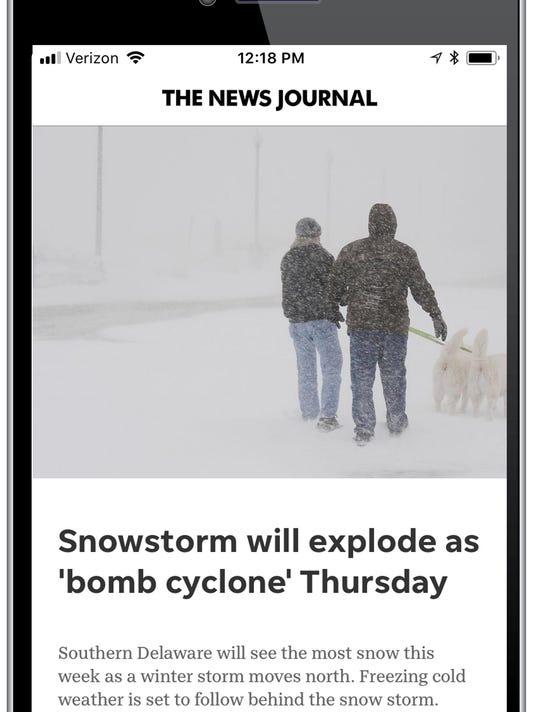 News Journal app