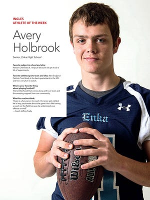 Ingles Athlete of the Week: Avery Holbrook