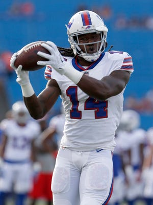 The Los Angeles Rams added a big piece to their offense by acquiring receiver Sammy Watkins from the Bills on Friday.