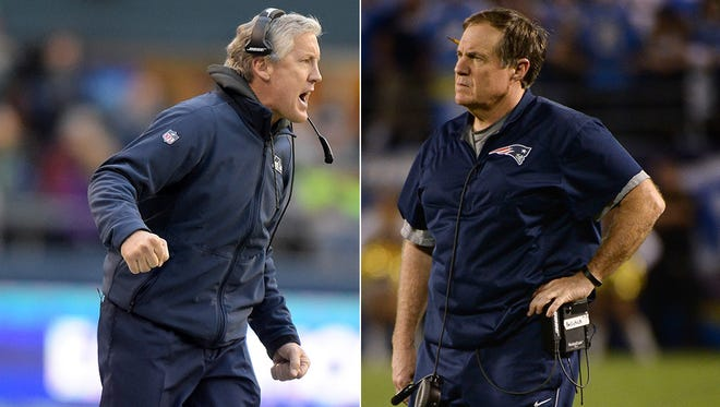 Seattle Seahawks coach Pete Carroll and New England Patriots coach Bill Belichick have both found themselves at the middle of controversies.
