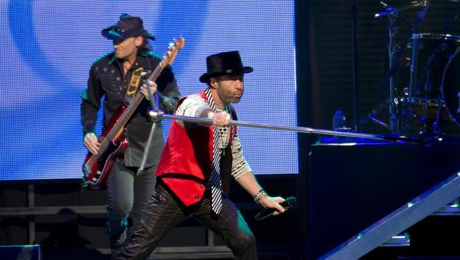 Bad Company performs at Ak-Chin Pavilion, Sunday, May 22, 2016, in Phoenix.