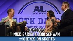 #100Eyes on Sports: Ep. 2, Jodi Schwan and Mick Garry