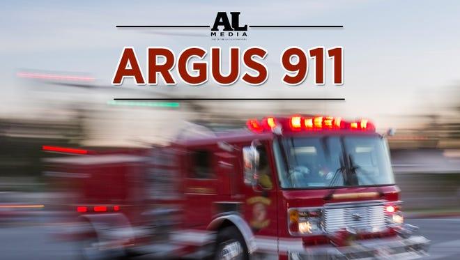 Argus911 fire tile