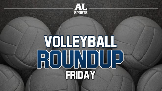 Friday volleyball roundup