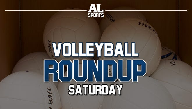 Saturday volleyball roundup