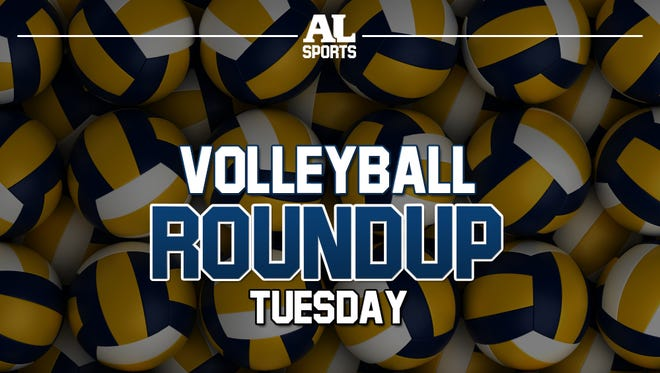 Tuesday volleyball roundup