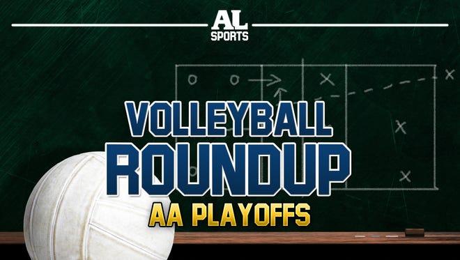 #ArgusVB Class AA Playoff schedule