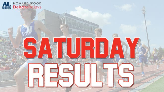 Day 2 results from the Dakota Relays