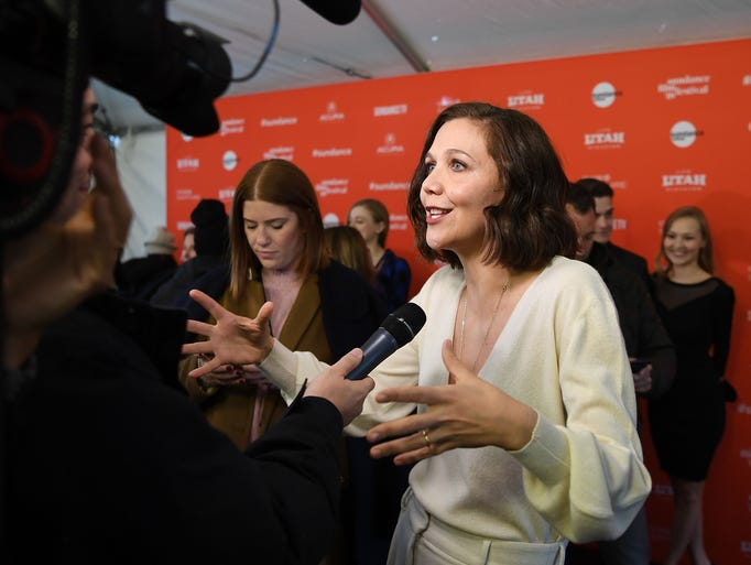 "Maggie Gyllenhaal attends the ""The kindergarten teacher"""