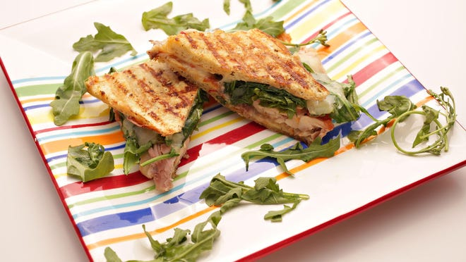 The quick Italian panini from Chef Amy Barnes of Sweet Basil as seen in Scottsdale on June 1, 2015