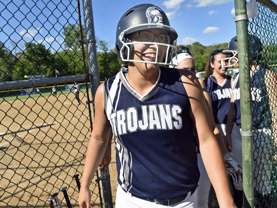 Chambersburg's Dori Loukopoulos had five RBIs in a