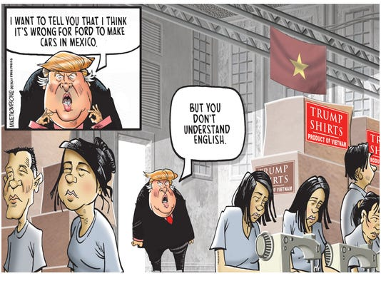 Trump slams Ford