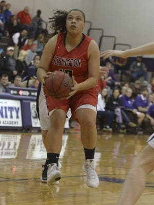 Jaclyn Arnold moved to Lexington in the eighth grade.