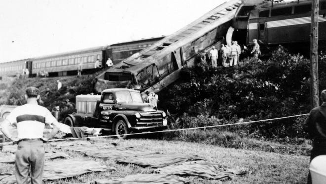 On September 11, 1950 the westbound passenger train Spirit of St. Louis rear ended a troop train bound for Indiana near West Lafayette. 33 Soldiers were killed and almost 300 were injured in the crash.